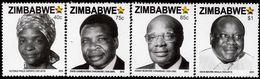 Zimbabwe - 2016 - Heroes Of Zimbabwe 2016 - Mint Stamp Set - Zimbabwe (1980-...)