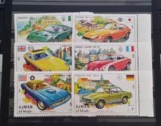 Ajman, 1971, Mi: 956/61 (MNH) - Cars
