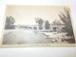 B668 Racconigi Ponte Macra Non Viagg.cm14x9 Macchioline Umido - Autres Villes