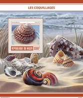 NIGER 2017 - Shells, Dragonfly S/S. Official Issue - Insekten
