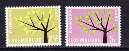 Europa Cept 1962 Luxemburg  2v ** Mnh (CO340) - 1962