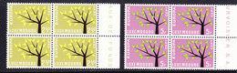 Europa Cept 1962 Luxemburg  2v Bl Of 4 ** Mnh (CO340A) - 1962