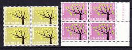 Europa Cept 1962 Luxemburg  2v Bl Of 4 ** Mnh (CO340C) - 1962