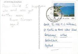 Bermuda 1988 Warwick John Smith's Bay Official Postcard No. 5 Of 12 - Bermuda