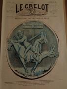 Le Grelot.2e Année.n°56.directeur-gérant,J.MADRE.Dimanche 5 Mai 1872.Médaillon,par  ALFRED LE PETIT.TTB - Journaux - Quotidiens
