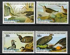 BIRDS  - 1985 -  PENRHYN - Mi. Nr. 414/417 -  NH - (CW2427.52) - Penrhyn