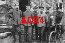 62 QUEANT Nordfrankreich Cambrai Arras Bapaume Velo Bicyclette Armierungs Bataillon 135 Schreibstube 1917 1918 - France