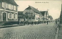 AK Herxheim, Straßenpartie, Um 1919 (17350) - Germania
