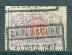 "BELGIE - OBP  TR 37 - Cachet  ""CARLSBOURG - BELGIQUE"" - (ref. 14.140) - 1895-1913"