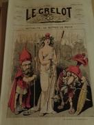 Le Grelot.2e Année.n°50.directeur-gérant,J.MADRE.Dimanche 24 Mars 1872.Actualité,par  ALFRED LE PETIT.TTB - 1850 - 1899