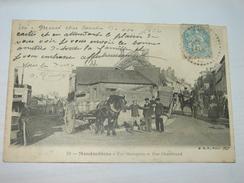 C.P.A.-  Mondoubleau (41) - Rue Menogerie Et Rue Gheerbrand - 1907 - SUP (H19) - France