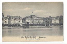 17107 - Luzern  Hôtel Schweizerhof Lucerne - LU Lucerne