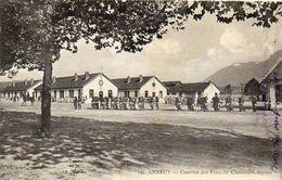 CPA - ANNECY (74) - Aspect De La Caserne Des Fins Du 11° Chasseurs Alpins En 1914 - Annecy