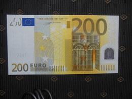 200 EURO,  GERMANY,  X - R006 A1- DUISENBERG,  UNC, Ser. X0195 - EURO