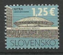 SK 2017-01 DEFINITIVE NITRE, SLOVAKIA, 1 X 1v, MNH - Slowakische Republik