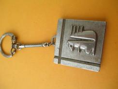 Porte-clé Métallique/Banque / Caisse D'Epargne L'Ecureuil /Années 1960-1970  POC230 - Porte-clefs