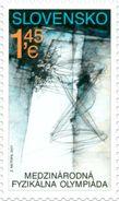 SK 2017-02 INTERNATIOAL FISIC OLY, SLOVAKIA, 1 X 1v, MNH - Ungebraucht