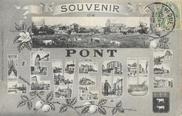 Souvenir De Pont L'Evêque - Multivues Dans Les Lettres - Edition Ozange, Libraire - Souvenir De...
