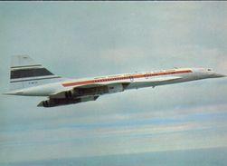 CONCORDE, SUD AVIATION B.A.C. EN VOL - Avions