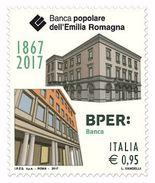 Italia Repubblica 2017 Banca Popolare Dell'Emilia Romagna € 0,95 MNH** Integro - 2011-...:  Nuovi
