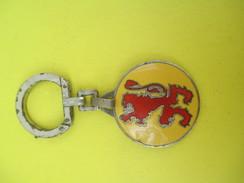 Porte-clé Métallique/Alimentaire/Brasserie BEAUFORT Du Cameroun / Lyon  AUGIS /Années 1960-1970               POC243 - Porte-clefs