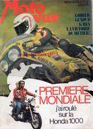 MOTO REVUE -N° 2187- 1974- 38 E BOL D' OR-HONDA 1000-CAMERINO-GRITTI-JOHNNNY HALLYDAY-LUC RIGAL BMW 980-KAWASAKI-ESPAGNE - Moto