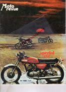 MOTO REVUE -N° 1988- 1970-650 TRIUMPH BONNEVILLE-KAWASAKI 500- NORTON-HUGH ANDERSON-TRIAL-DRAGSTER-250 HONDA-MALAGUTI - Moto