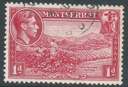 Montserrat. 1938-48 KGVI. 1d Used. P13 SG 102 - Montserrat