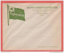 ESPERANTO Vicenza Busta OND Gruppo Esperantista Vicentino - Organizaciones