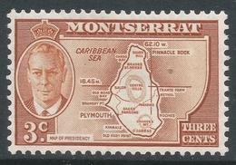 Montserrat. 1951 KGVI. 3c MH. SG 125 - Montserrat