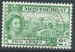 Montserrat. 1953-62 QEII. 2c Used. SG 138 - Montserrat