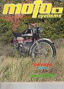 REVUE MOTO CYCLISME-BULTACO-METRALLA-NORTON 750-SUISSE PAYERNE  HUSQVARNA-SUZUKI JOEL ROBERT-COGNAC-DINAN-ANGEL NIETO - Moto
