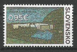 SK 2017-07 ORAVSKA HIDROCENTRALA, SLOVAKIA, 1 X 1v, MNH - Ungebraucht