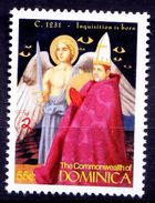 1231 Inquisition Is Born, Pope Gregorius IX, Religion, Dominica MNH, Millennium - Papas