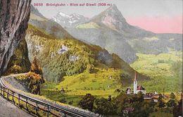 GISWIL → Brünigbahn Mit Kirche Von Giswil, Ca.1910 - OW Obwald