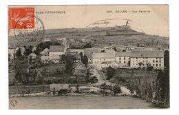 63 Gelles Vue Générale Cachet Gelles 1909 - Frankreich