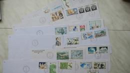 TAAF  Lot De 15 Lettre En Partance De Dumont-D'Urville-T.Adelie Des Années 1989 Et 1992   Oblitéré - Tierras Australes Y Antárticas Francesas (TAAF)