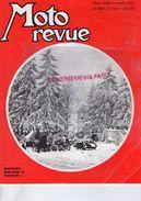 MOTO REVUE N° 1963-JANVIER 1970-ELEPHANTS NURBURGRING-DUCATI CH. BOURGEOIS-1000 VINCENT BLACK LIGHTNING-LOUBET CHANCENAY - Moto