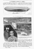 """LA CATASTROPHE Du BALLON Le """" LE BRADSKY """"  1902 - Transportation"""
