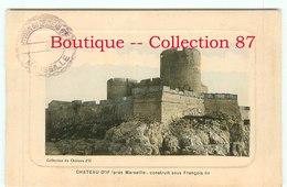 PRISON De MARSEILLE Avc CACHET  < LOT De 2 CARTES STYLE GRAVURE - Bagne & Bagnards