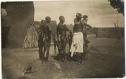 Real Photo Haute Volta Femmes Bobos Fing String Feuilles Piercing Levres Trous Punaises Pinholes - Burkina Faso