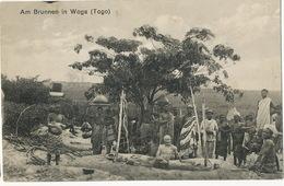 Am Brunnen In Woga Togo  German Togo - Togo
