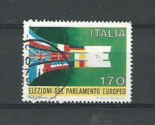 1979 N° 1391 ELECTIONS DU PARLEMENT EUROPEEN  OBLITERE 2 SCANNE - 6. 1946-.. Republic