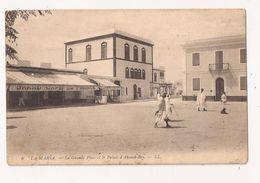 TUNISIE LA MARSA La Grande Place Et Le Palais D'Ahmed Bey - Tunisia
