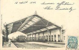 A-17- 8429 : GARE. TRAIN. CHEMIN DE FER. SAINT GERMAIN DES FOSSES. - Autres Communes