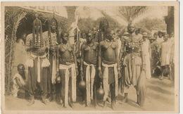 Carte Photo Ouagadougou Danseuses De Rumba  Cliché Rustom Jeuens Danses Nues Indiqué Cote Ivoire - Burkina Faso