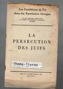 La Persécution Des Juifs (territoires Occupés) 1942 (F.6978) - Boeken, Tijdschriften, Stripverhalen