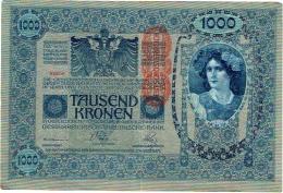 Billet. Austria. 1000 Tausend Kronen. 1902 - Autriche