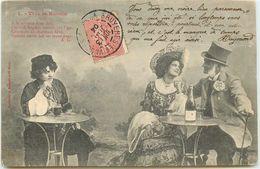 PAR BERGERET 5 CARTES VIVE LA RUSSIE L'ANGLAIS LA BELLE LE RUSSE HISTOIRE DE A. GABORIAUD - Bergeret