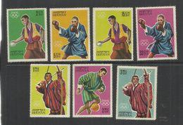 BHUTAN 1964 GIOCHI OLIMPICI TOKYO OLYMPIC GAMES OLIMPIADE SERIE COMPLETA COMPLETE SET MNH - Bhutan